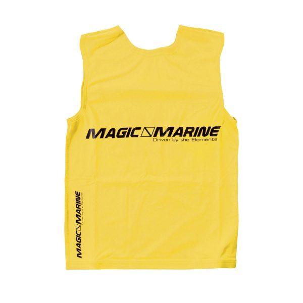 Lycra sin mangas Magic Marine Tanktop UPF 50+ amarillo