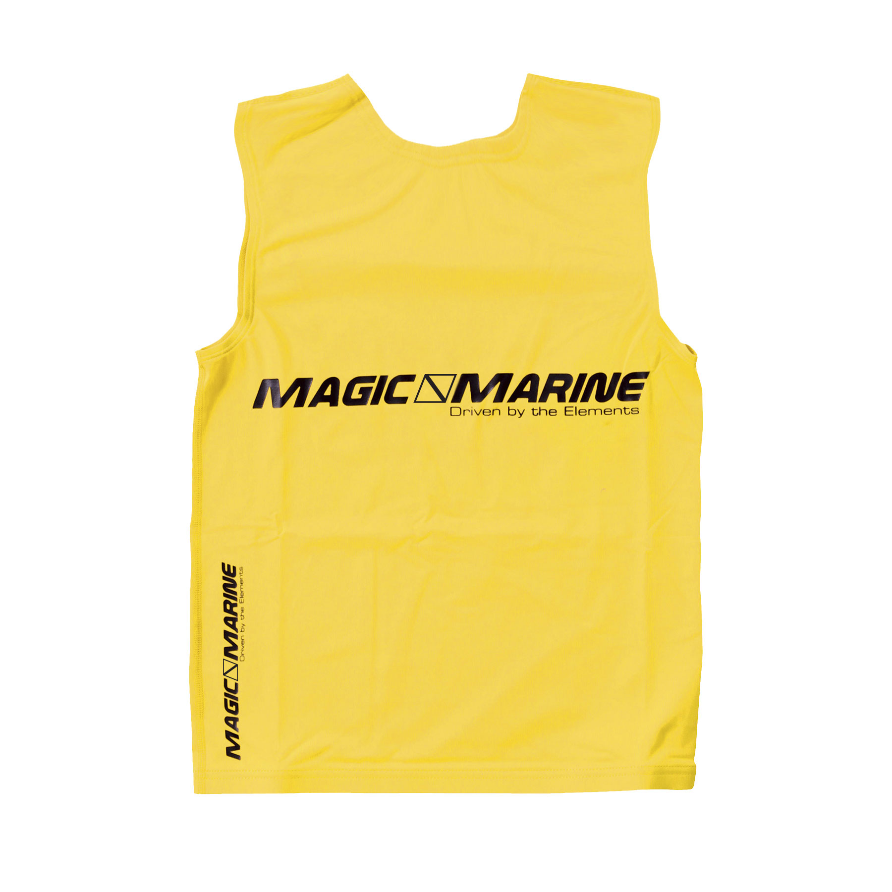 Lycra sin mangas Magic Marine Tanktop UPF 50+ amarillo