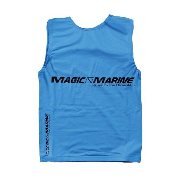 Lycra sin mangas Magic Marine Tanktop UPF 50+ azul