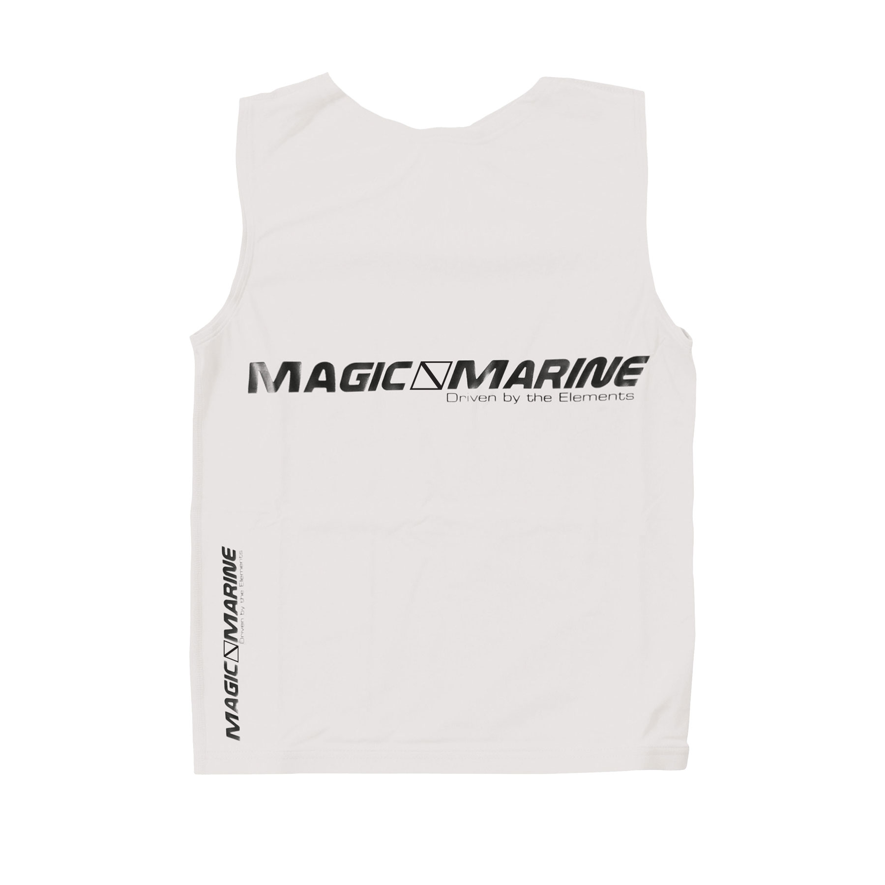 Lycra sin mangas Magic Marine Tanktop UPF 50+ blanco