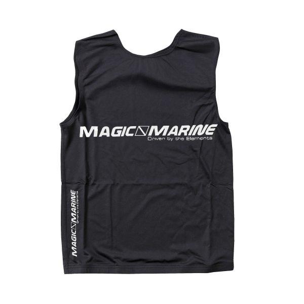 Lycra sin mangas Magic Marine Tanktop UPF 50+ negro