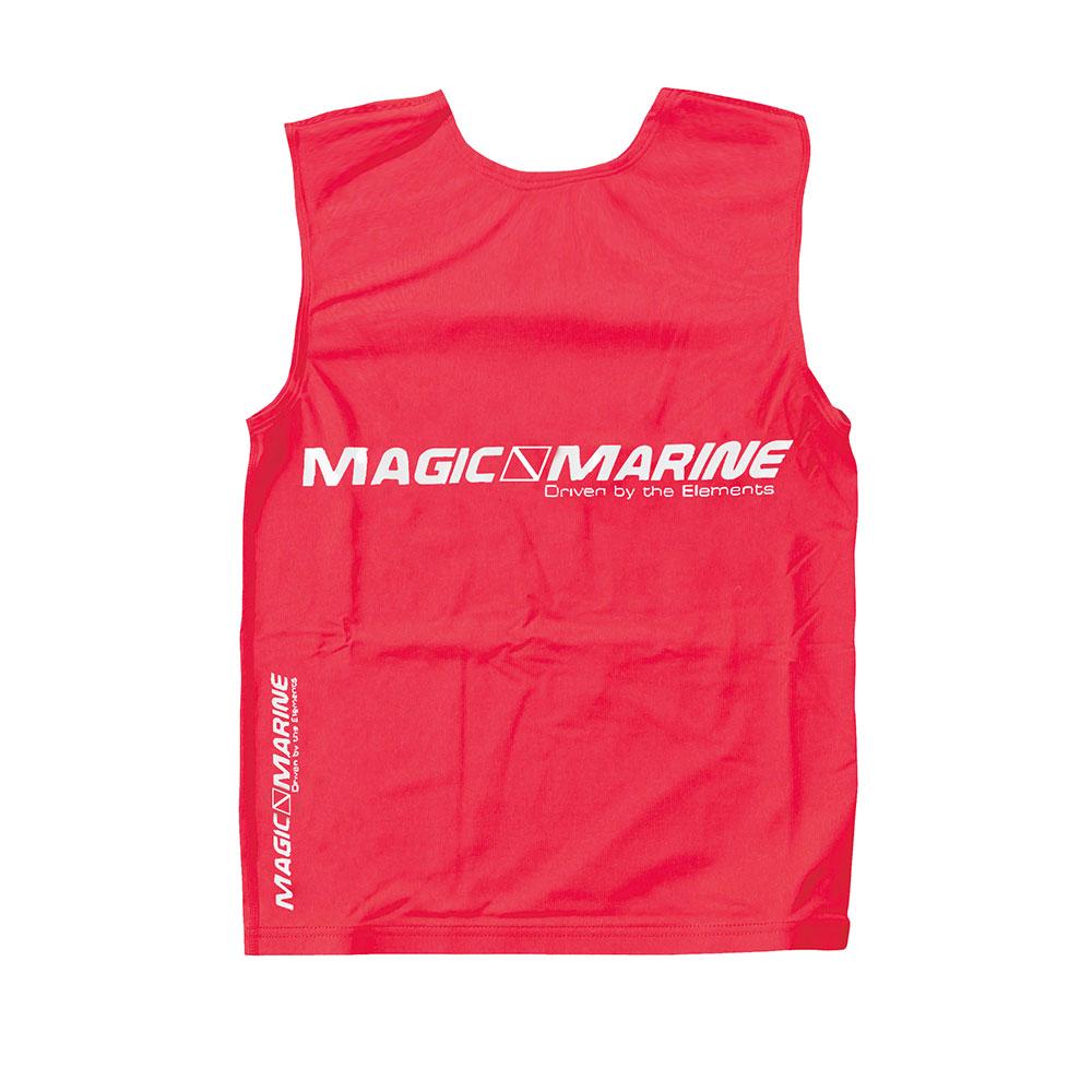 Lycra sin mangas Magic Marine Tanktop UPF 50+ rojo